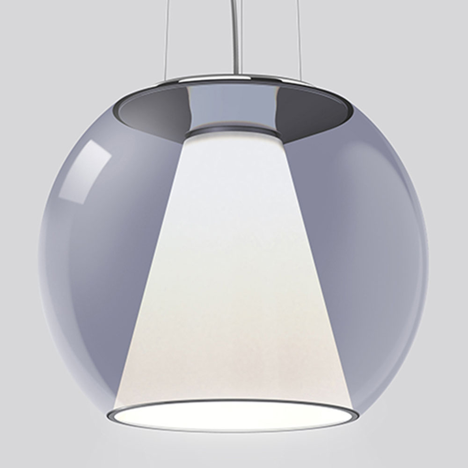 serien.lighting Draft M Hängelampe 927 Triac blau