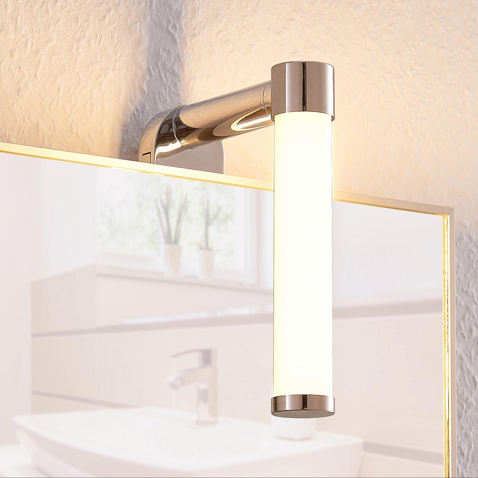 Lindby Hafren LED-Spiegelleuchte, 15 cm
