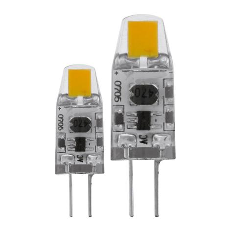 G4 LED-pære 1,2 W, 2.700 K i dobbeltpakning
