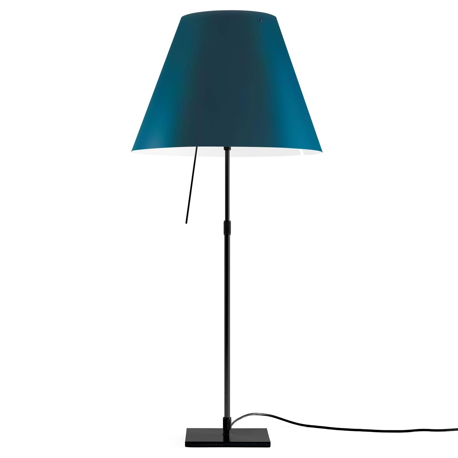 Luceplan Costanza tafellamp D13 zwart/blauw