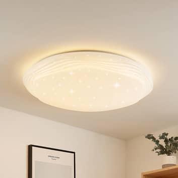 Lindby Cilara LED plafondlamp, CCT, dimbaar