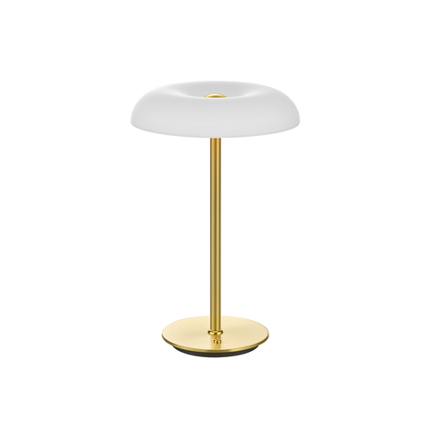 BANKAMP Vanity de mesa LED dimmer táctil latón
