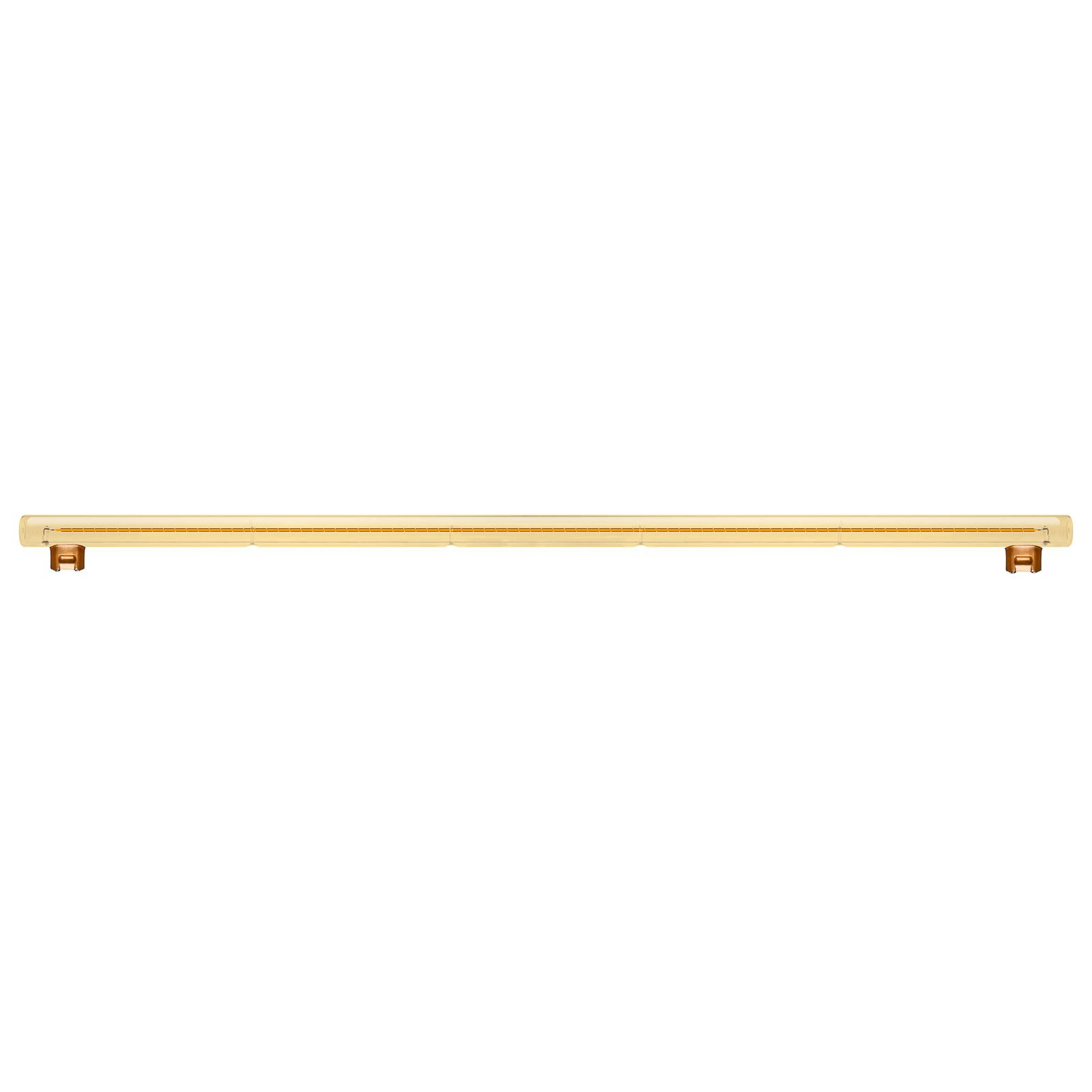 SEGULA LED-Linienlampe S14s 13W 2.000K 100cm gold
