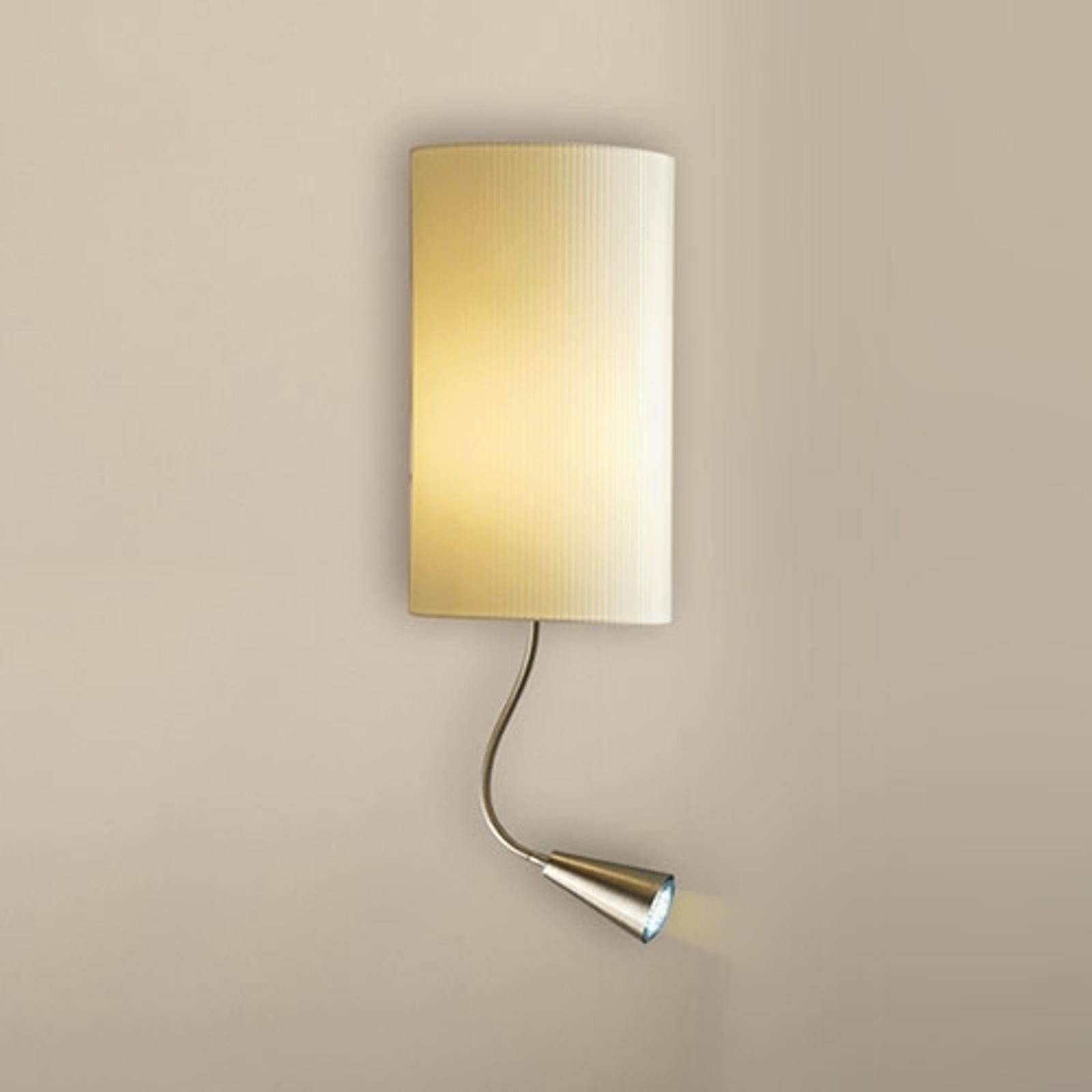 Wandlamp Benito met LED-leesarm