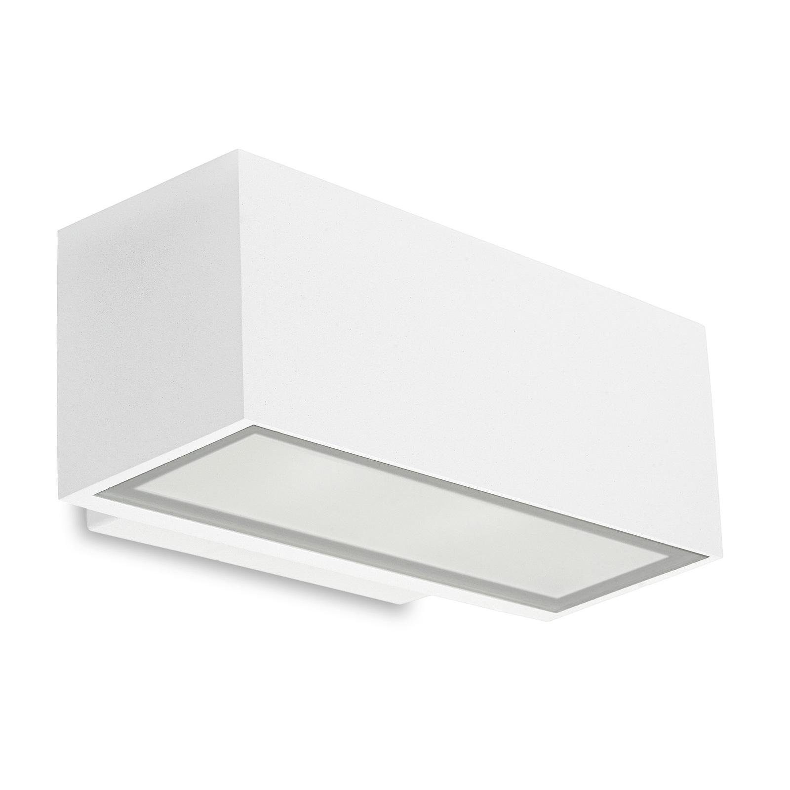 LEDS-C4 Afrodita utendørs vegglampe, ned, hvit