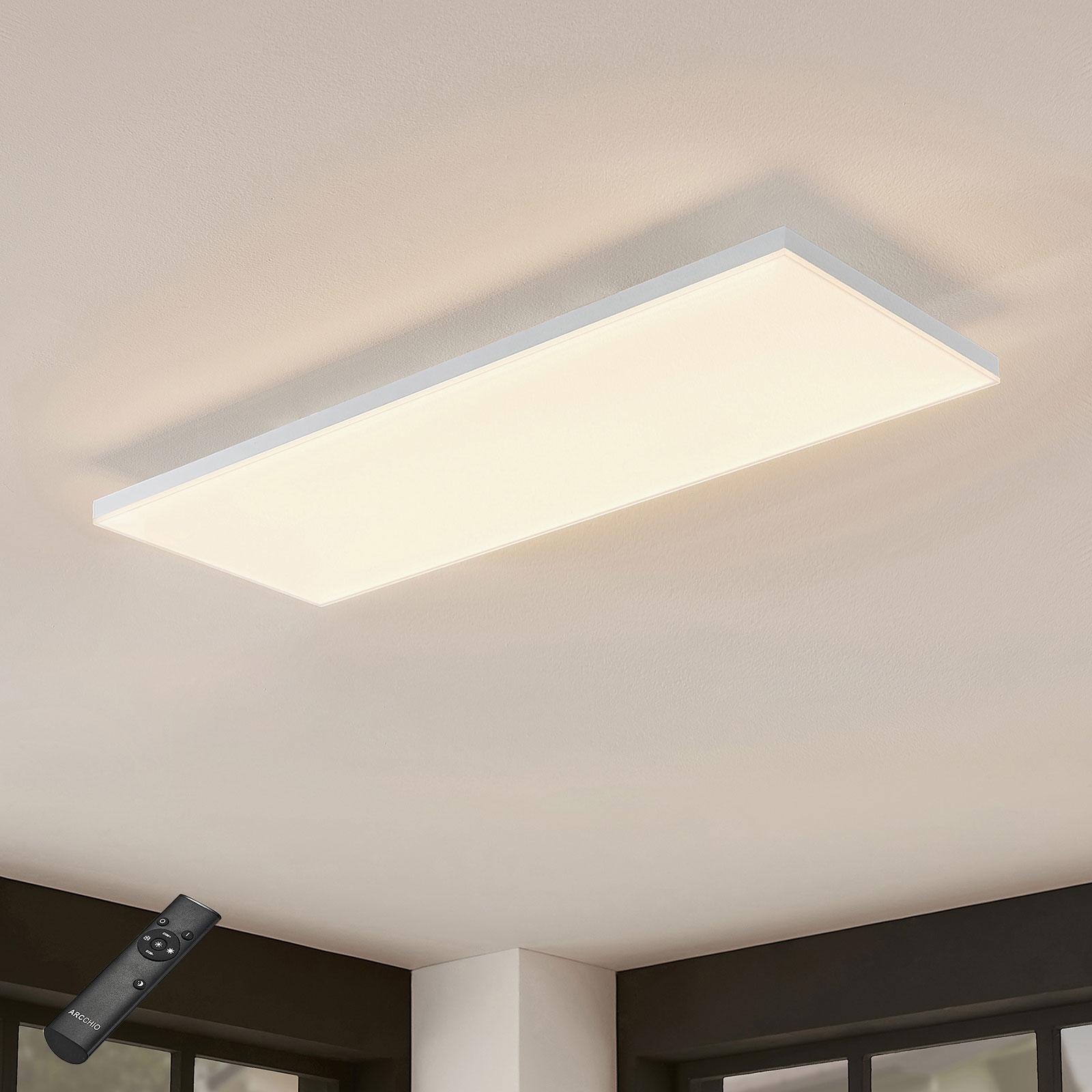 LED-Panel Blaan CCT Fernbedienung 79,5 x 29,5 cm
