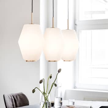 Northern Dahl hængelampe med glasskærm