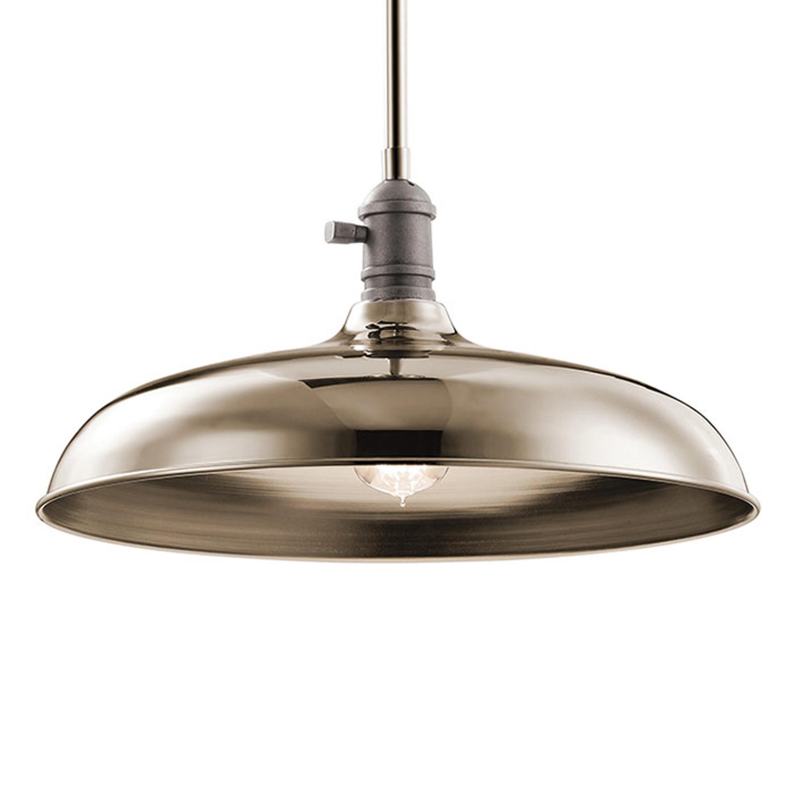 Hanglamp Cobson Ø 40,7 cm nikkel gepolijst