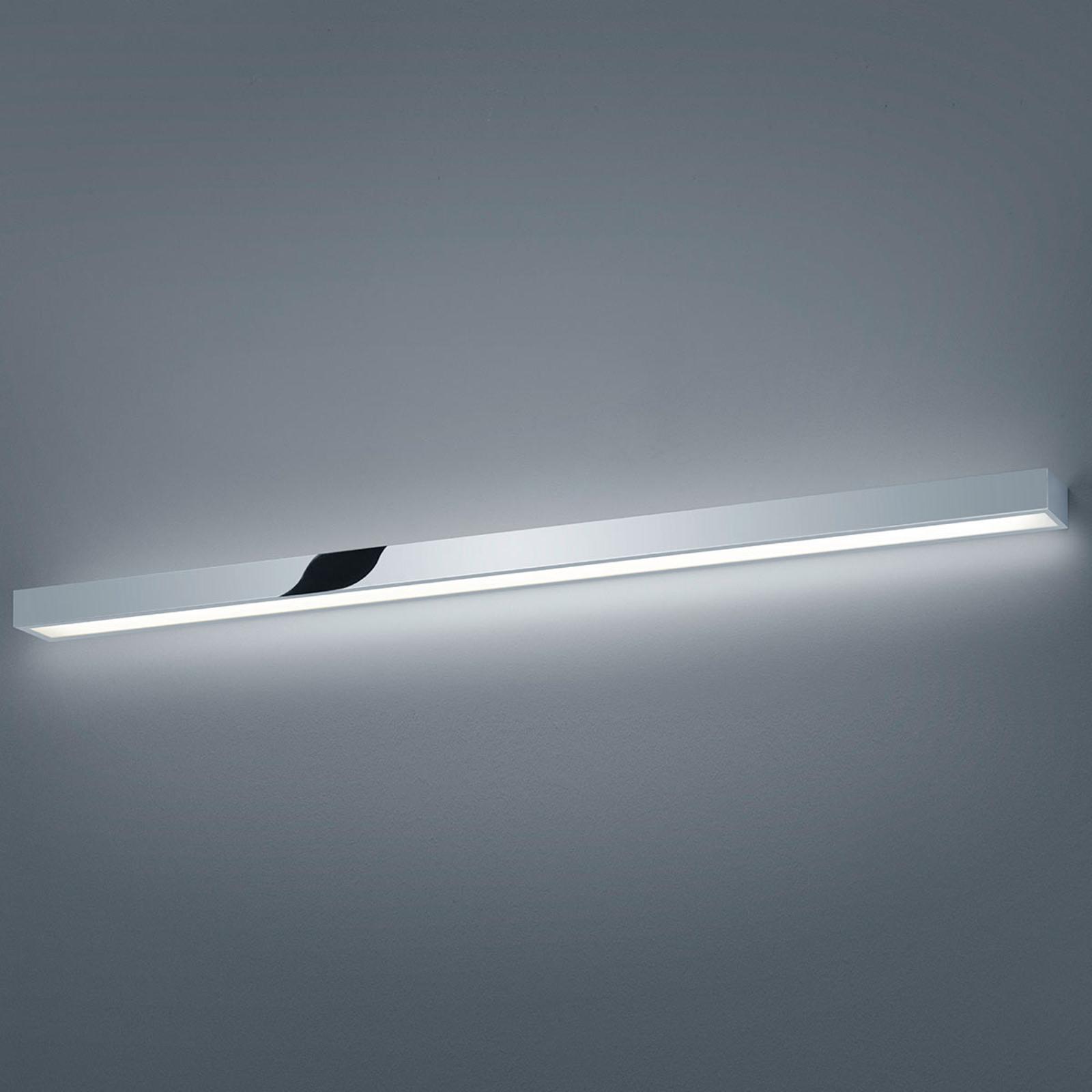 Helestra Theia LED-spejllampe, forkromet, 120cm