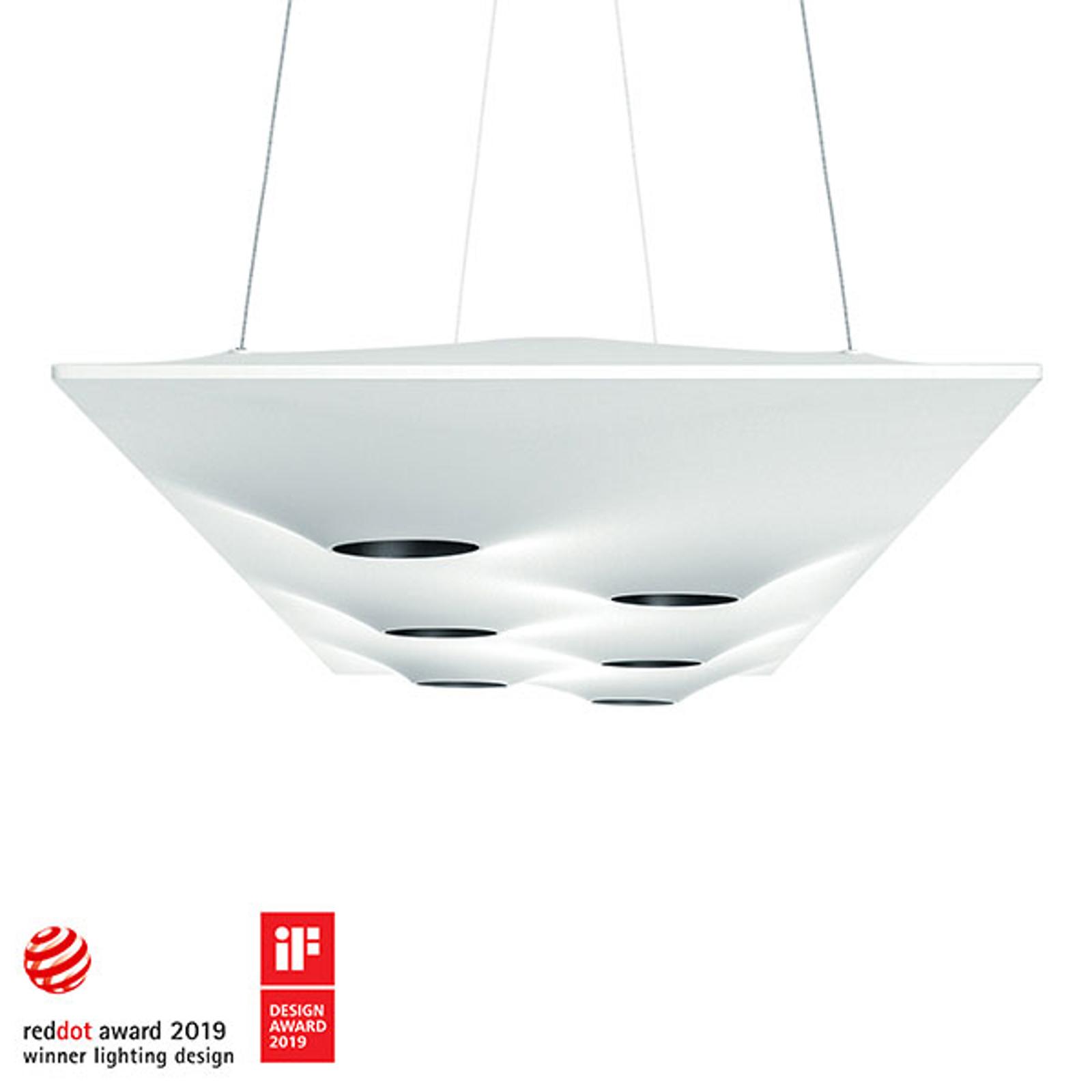 Zumtobel Teela LED-Hängeleuchte Bluetooth 180 cm