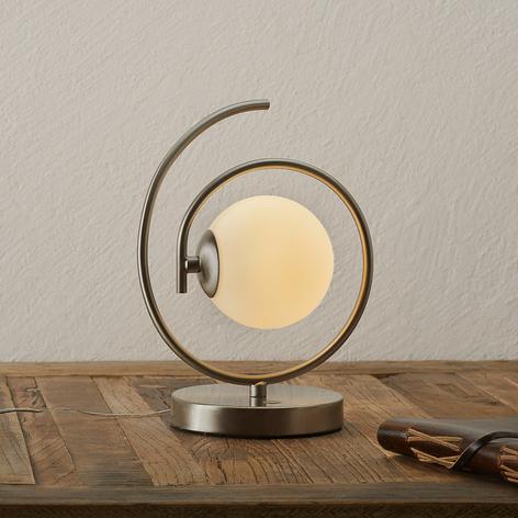 Llamativa lámpara LED de mesa Ensemble