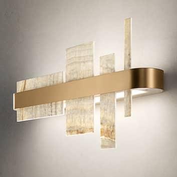 Design-seinävalaisin Honicé LED-valoilla