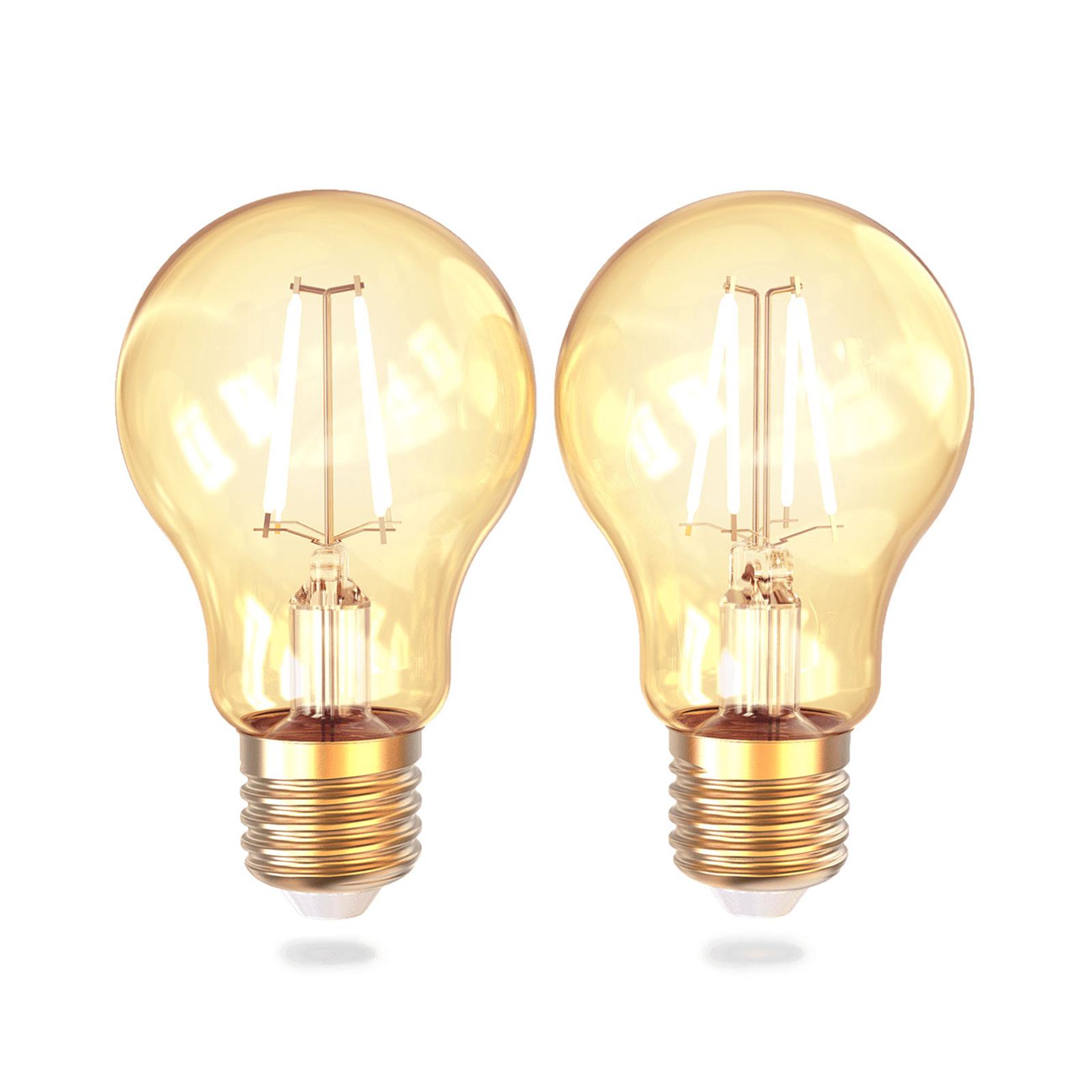 Innr LED-Lampe WiFi Bulb E27 4,5W 822 350lm 2er