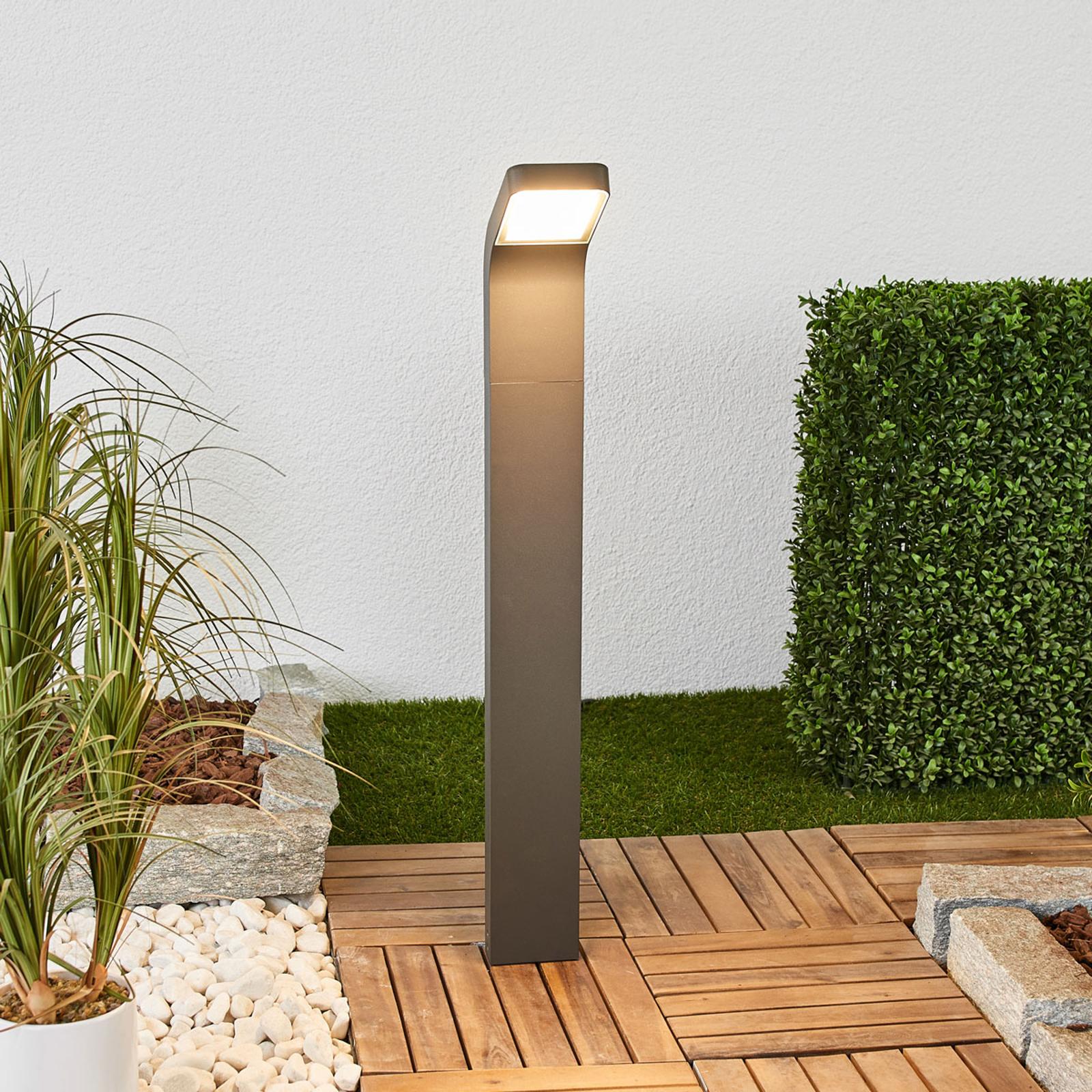 LED-veilampe Maddox med bøyd lampehode