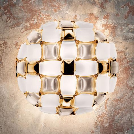Slamp Mida stropní světlo, 50 cm, bílá-zlatá