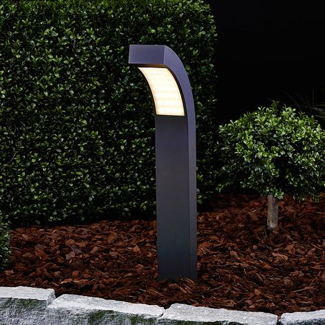 60 cm hohe LED-Sockelleuchte Lennik