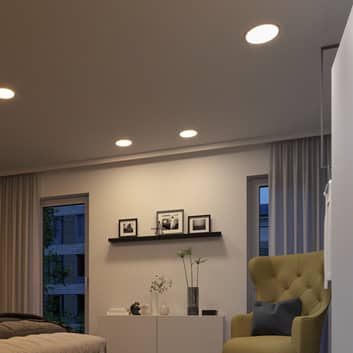 Paulmann LED-panel Areo rund 3-Step dim-to-varm