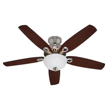 Stropní ventilátor Hunter Builder Deluxe, chrom