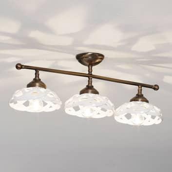 Stropní světlo Emanuel keramika 3zdrojové
