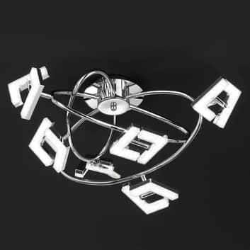 Lea - lampa sufitowa LED, 6-punktowa