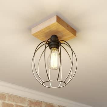 Plafondlamp Dorett met kooikap, 1-lamp