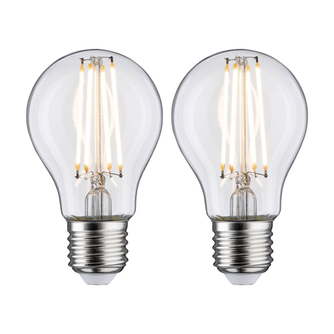 LED-Lampe E27 7W Filament 2.700K klar 2er-Packung