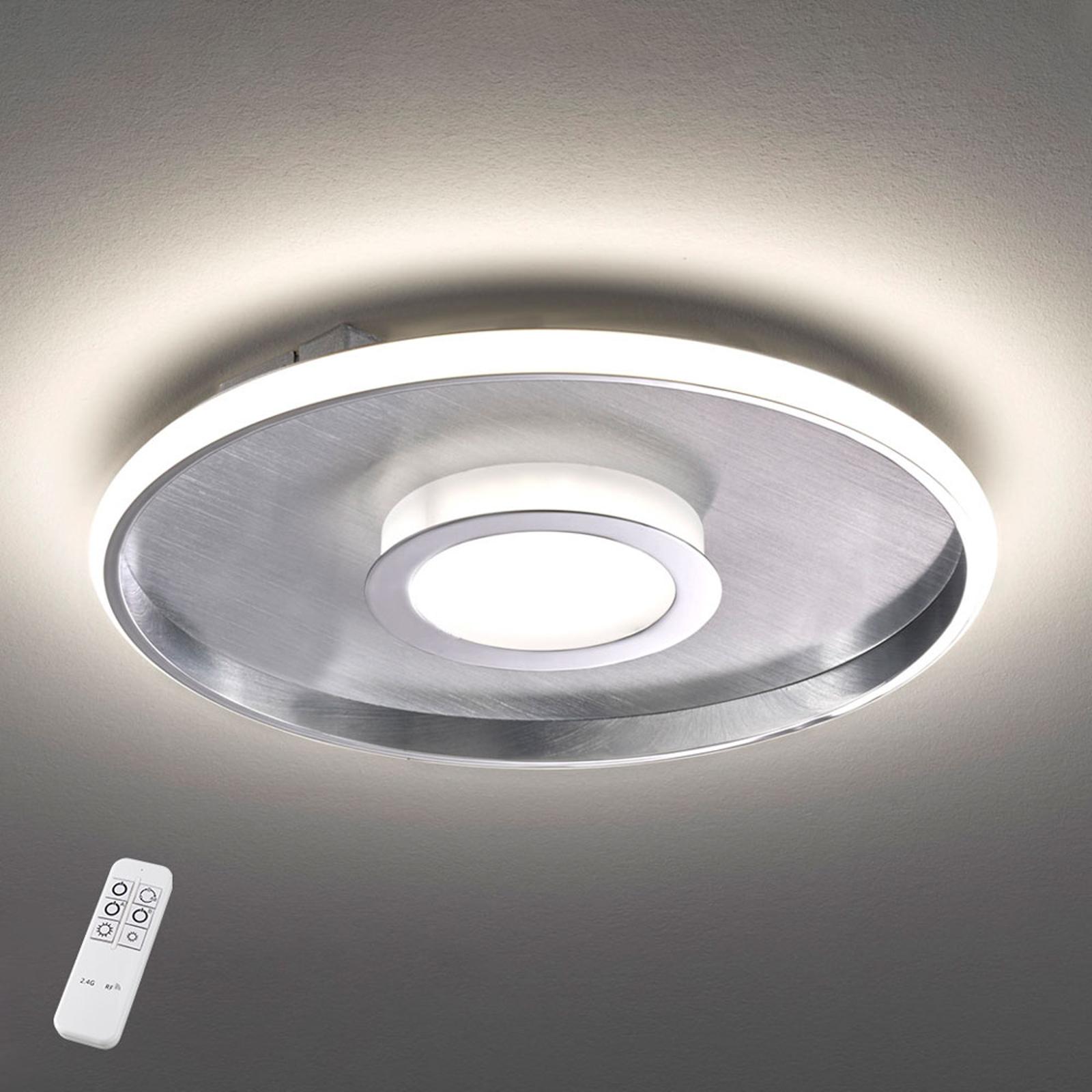 Lampa sufitowa LED Bug okrągła, chrom 45cm