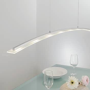 Høydejusterbar LED-hengelampe Juna, 136 cm