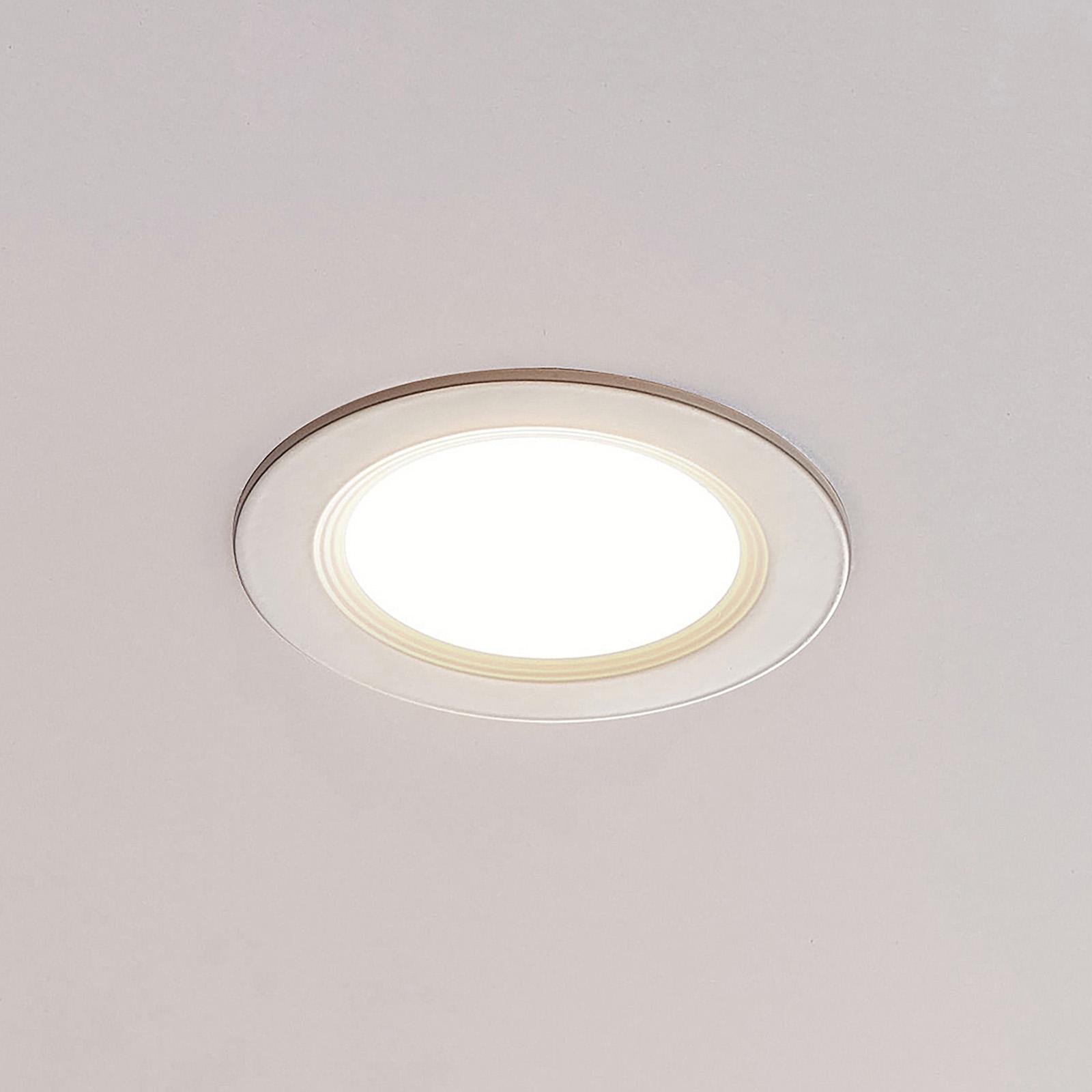 ELC Pan LED-Einbaupanel rund, 3.000 K Ø 12cm