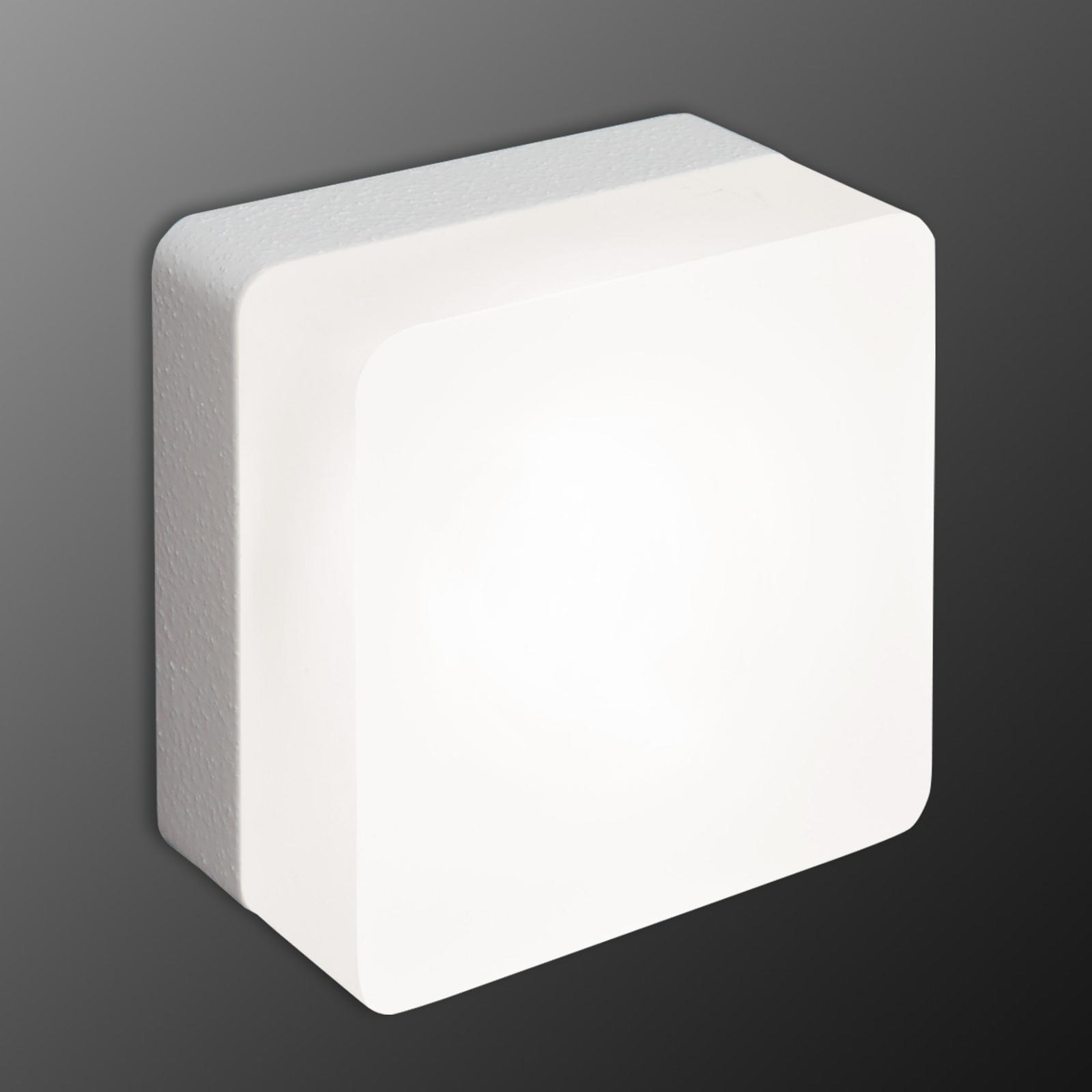 LED-Wandleuchte Muffin, grau