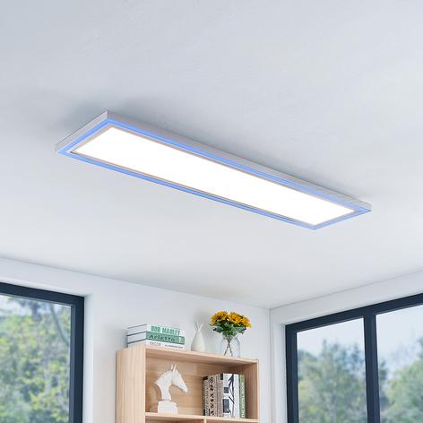 LED-Deckenleuchte Lynn, CCT+RGB, eckig, 120x30 cm
