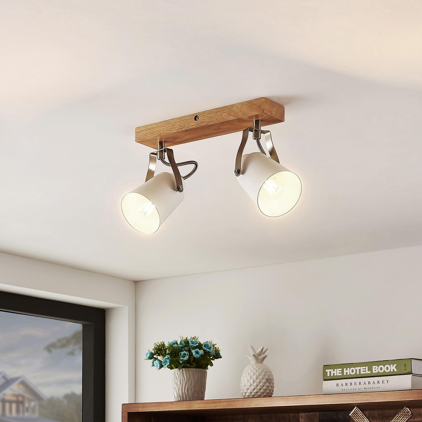 Lindby Blana taklampe, 2 lyskilder
