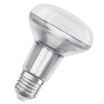 OSRAM LED riflettore E27 R80 5,9W 927 36° dimming