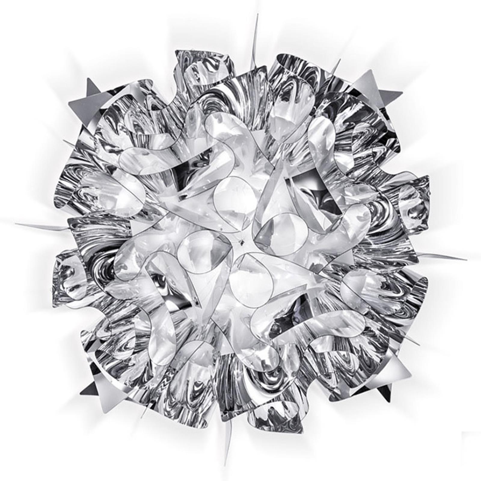 Slamp Veli Medium lampa sufitowa Ø 53cm srebrna