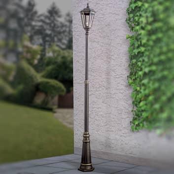 Brązowa latarnia FABIO, 1-pkt. 211 cm