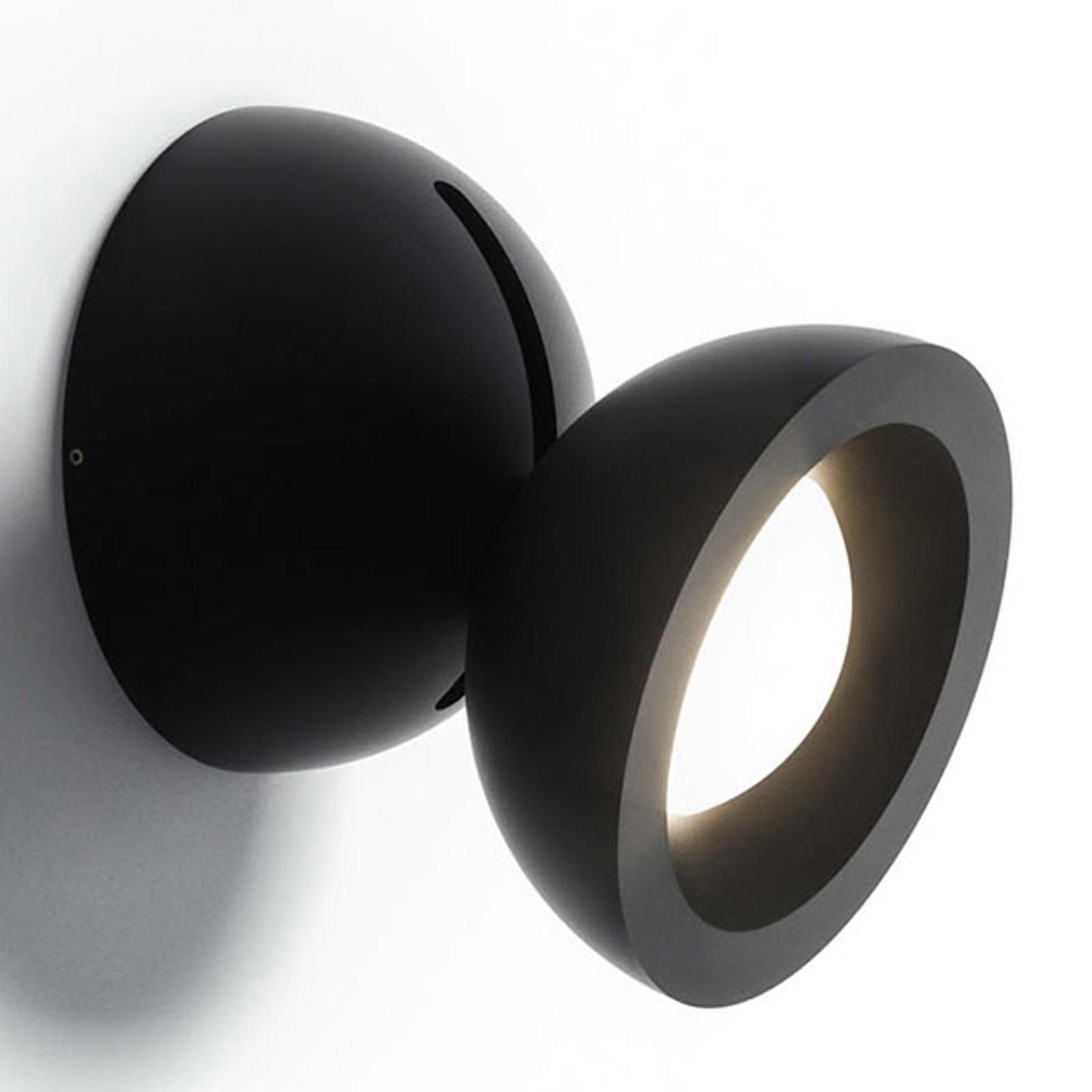 Axolight DoDot LED-Wandleuchte, schwarz 35°