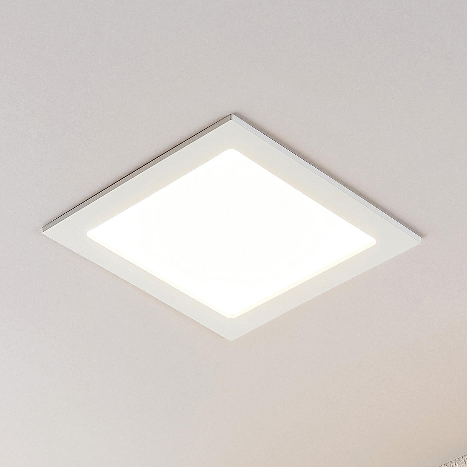LED podhledové svítidlo Joki 3000K hranaté 24cm