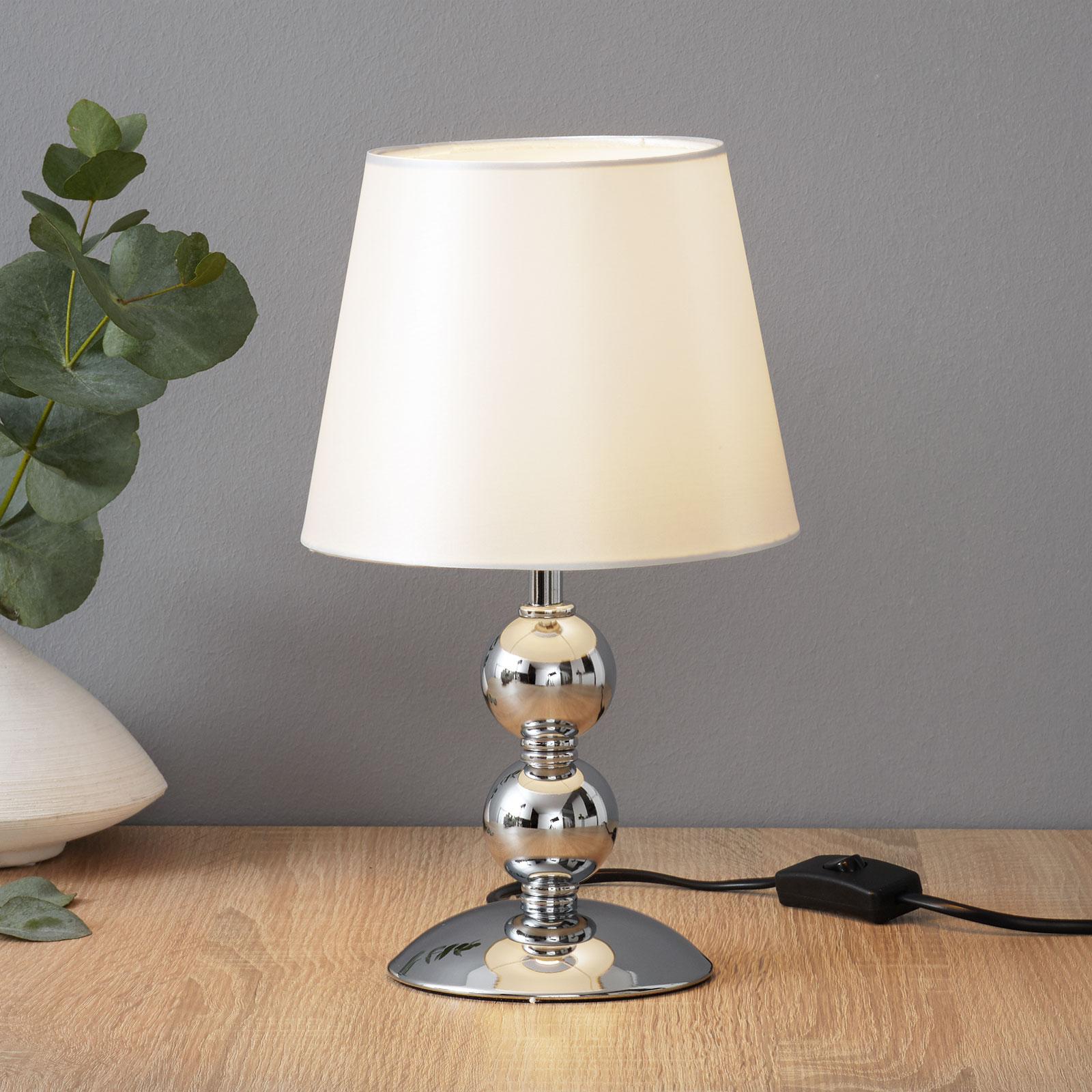 Lampada da tavolo Bea cromata