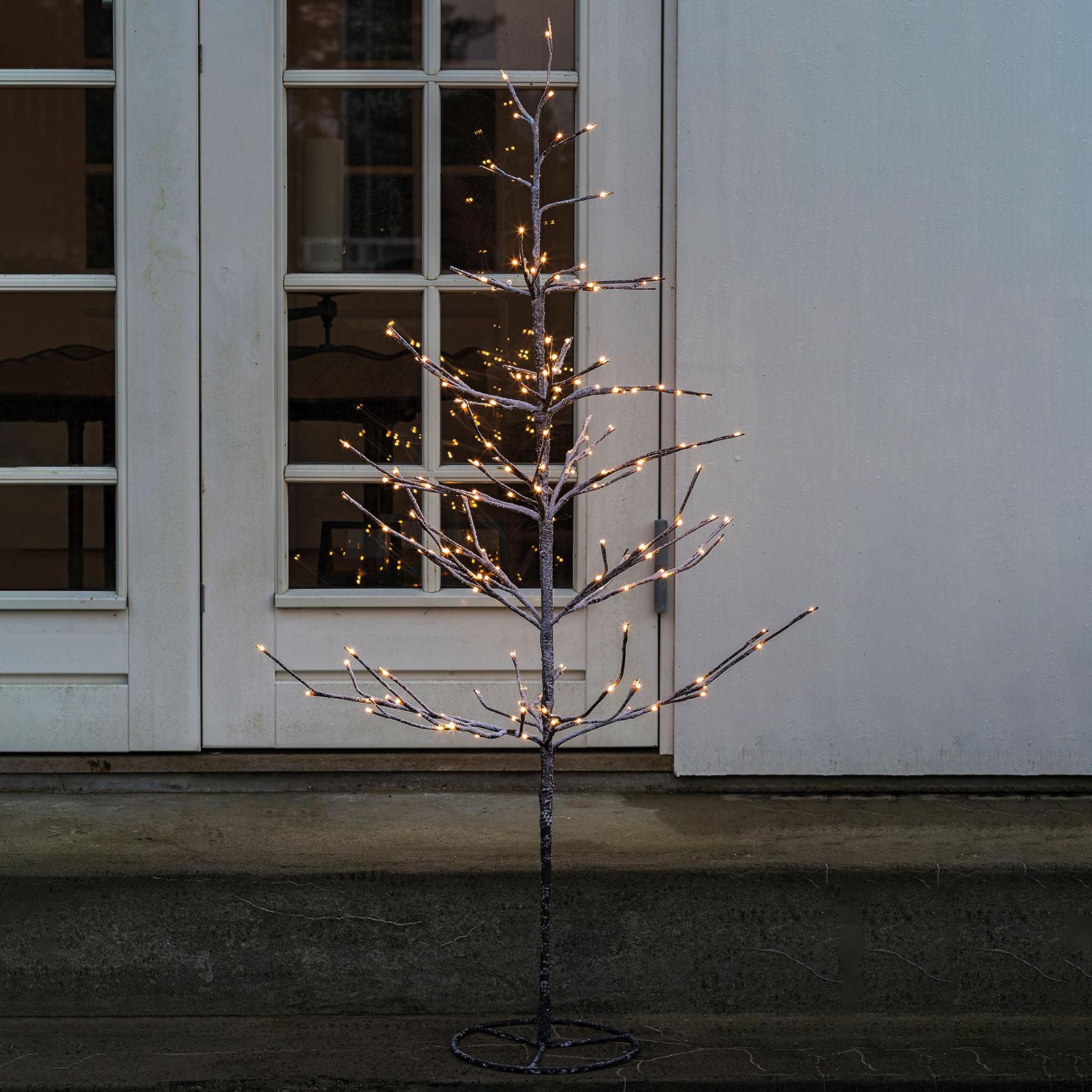 LED-Baum Alex im verschneiten Look, Höhe 210 cm