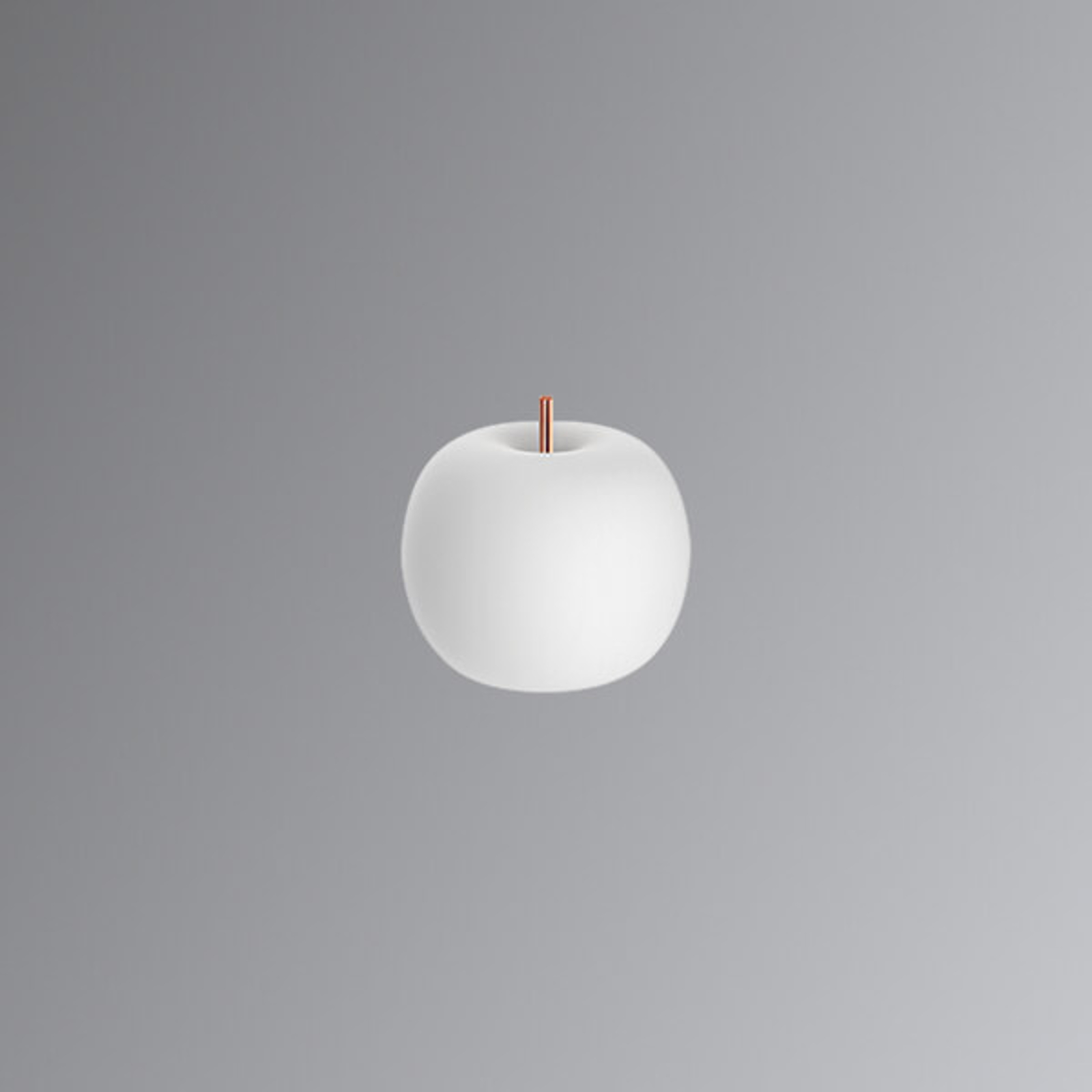 Lampada da tavolo LED Kushi con asta di rame 16