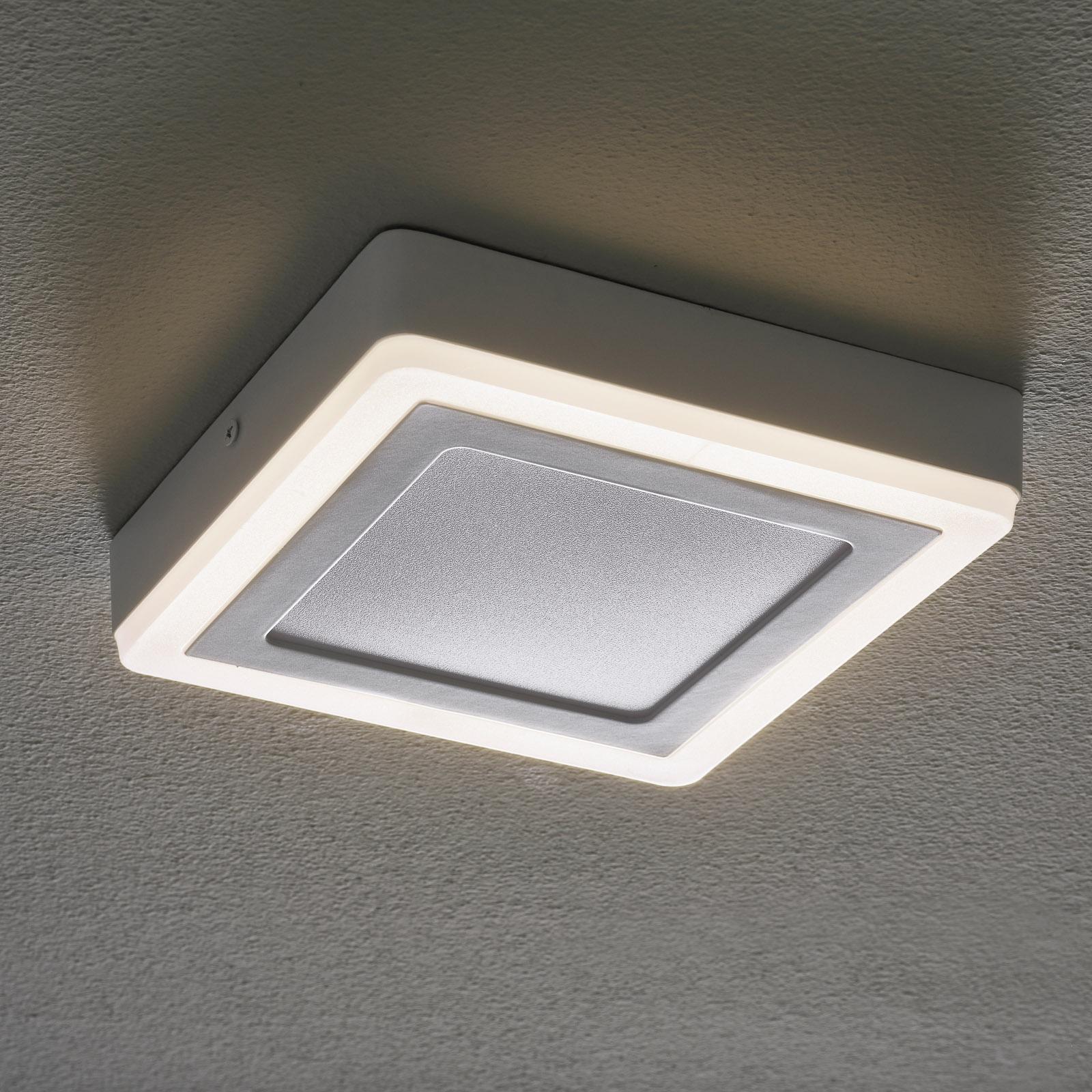 LEDVANCE LED Click White Square taklampe 20cm