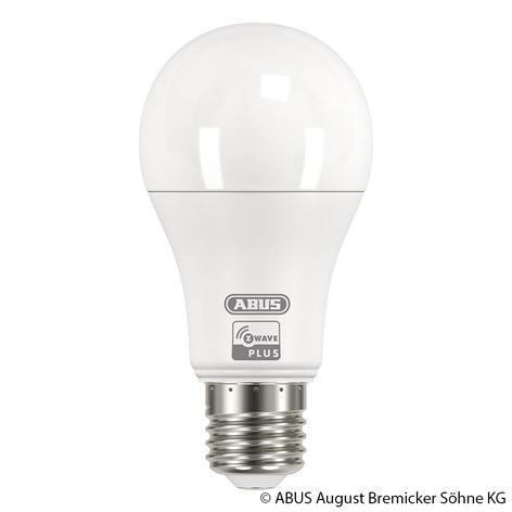 ABUS Z-Wave E27 9 W LED lamp, warmwit
