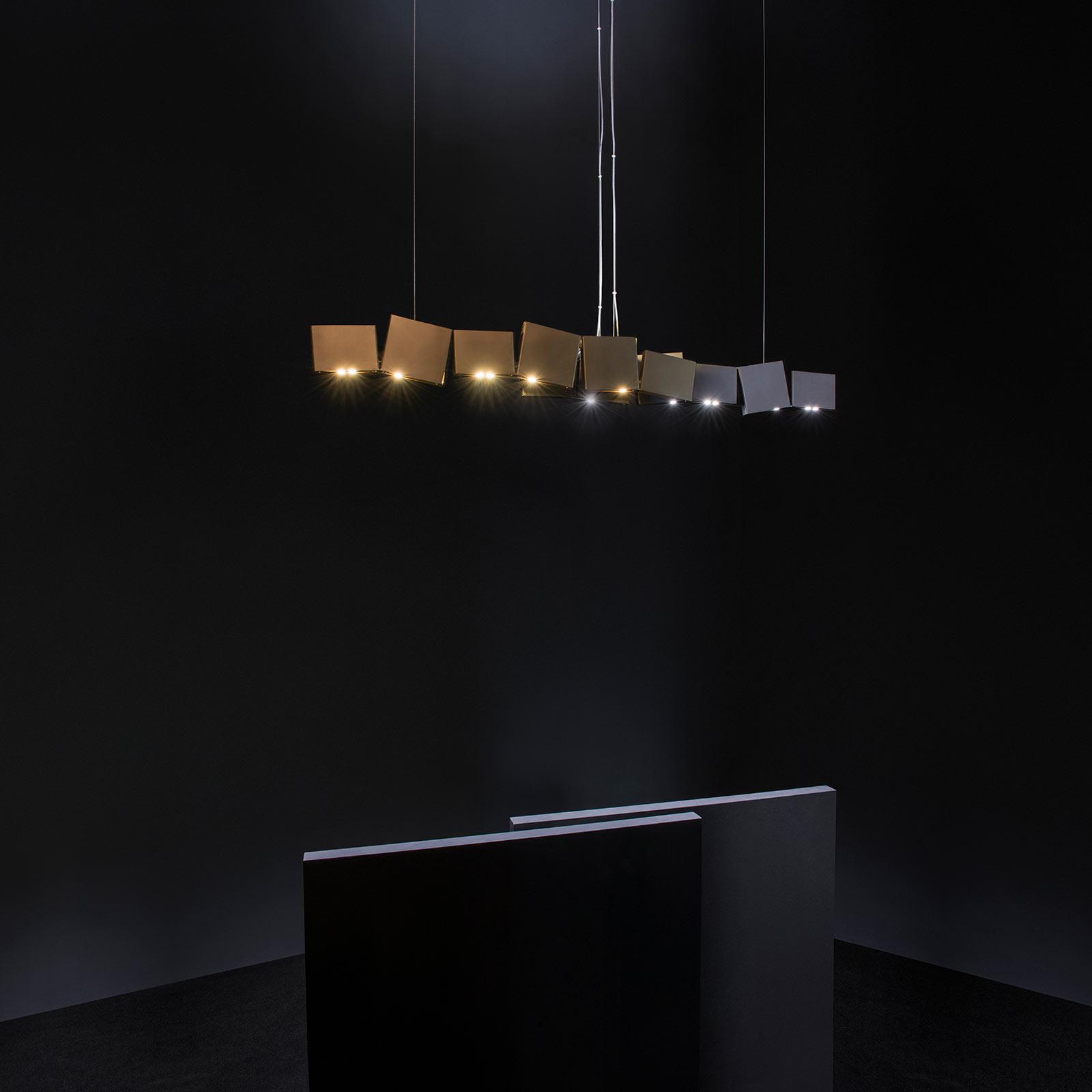 Terzani Gaia lampa wisząca LED 24-punktowa