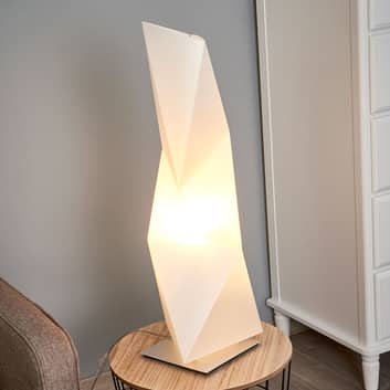 Firkantet designer bordlampe Diamond, 72 cm