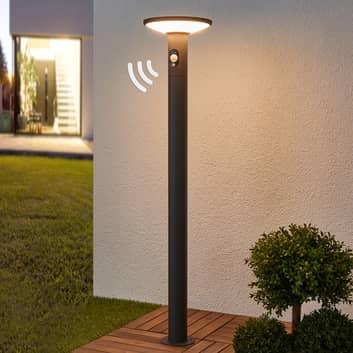 LED-gatlyktan Jersy med solarpanel, 100 cm
