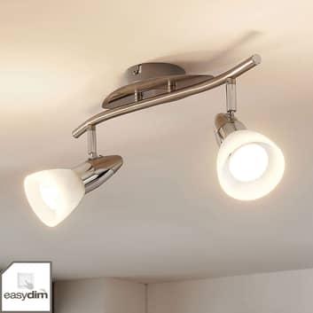 LED-Deckenlampe Cora, easydim, 2-fl.