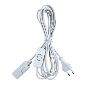 Kabel połączeniowy z wtyczką Euro z przełącznikiem