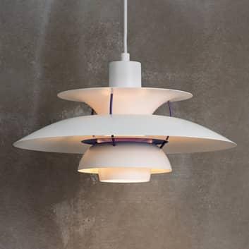 Louis Poulsen PH 5 classic lampa wisząca biała
