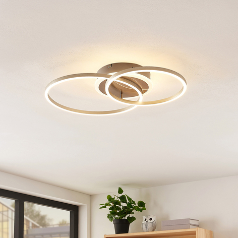 Lindby Smart Edica LED-taklampe