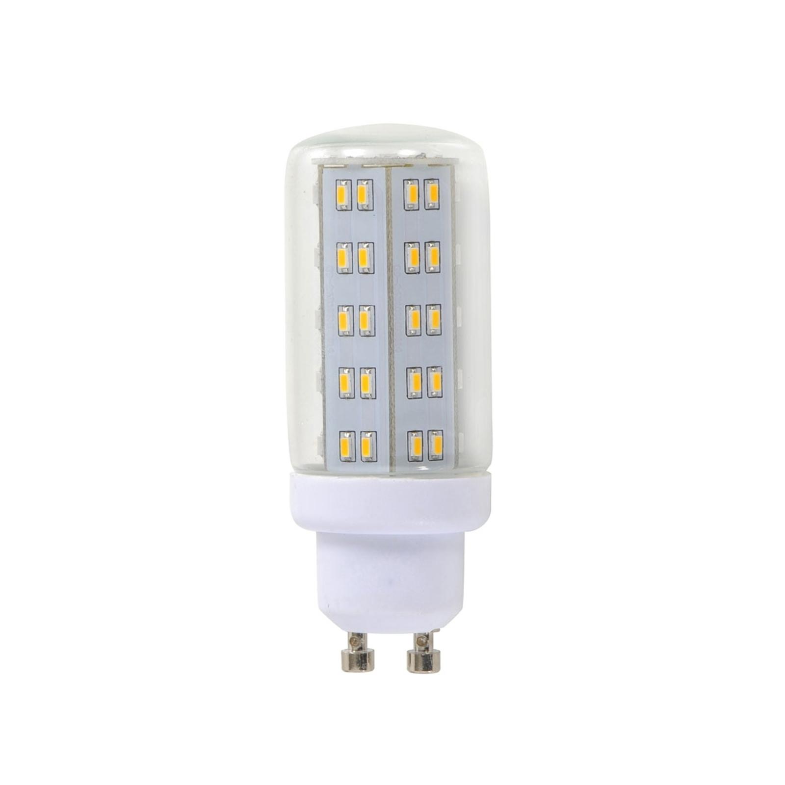 GU10 4W LED-Lampe in Röhrenform klar mit 69 LEDs
